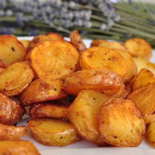Crispy Baby Potatoes Recipe from Grandmother's Kitchen