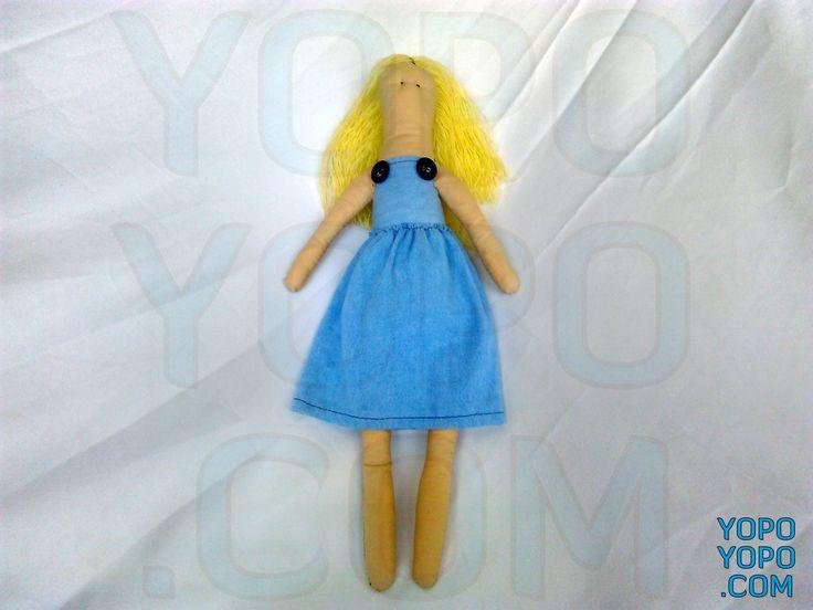 SUZIN01KK Oyuncak Kız Sarışın Bebek Renk: Karma  Kumaş: Karma  İç Dolgu: Elyaf  Ebat: 40 cm  Fiyat: 30 TL  Açıklama: Saçı İp Püsküllüdür.  Kargo: Alıcıya Ait (Firmayı seçebilirsiniz)