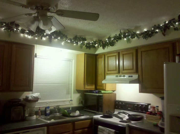 charming Ivy Kitchen Decor #9: This is my (@Suzanne Krizaneku0027s) home. I decorated the kitchen border with