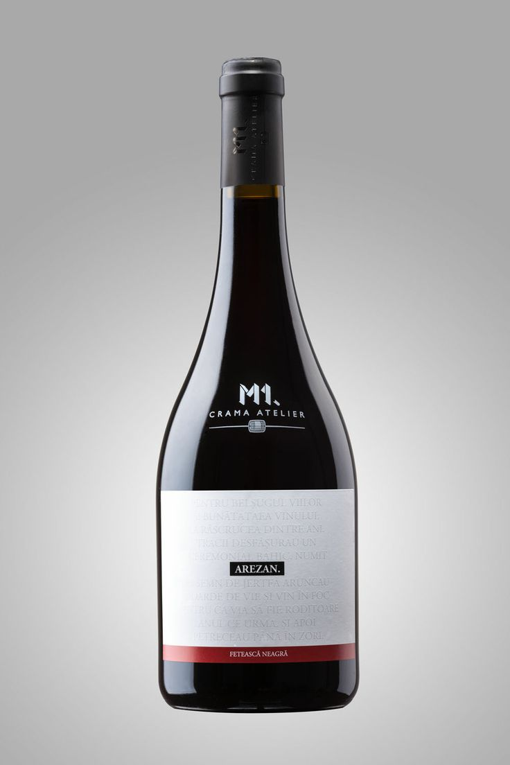 M1.Crama Atelier - Arezan Feteasca Neagra 2011. A splendid Romanian red grape variety.