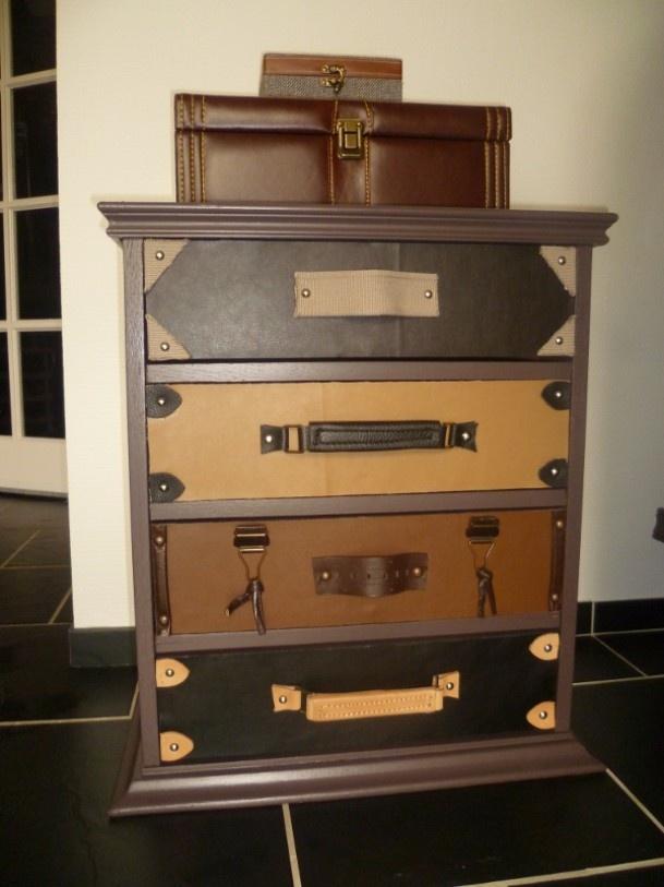 Wonderful Dresser, Luggage Style