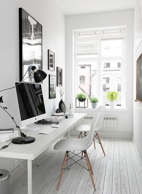 Come arredare da zero un perfetto ufficio black&white