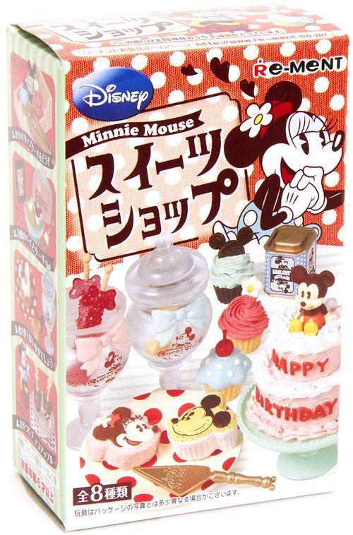 Re-Ment Disney Mickey Minnie Sweets Shop Miniature Box 2