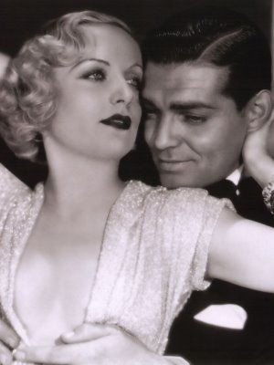 Carole Lombard and Clark Gable (m. 29-Mar-1939, d. 16-Jan-1942 from airplane crash)