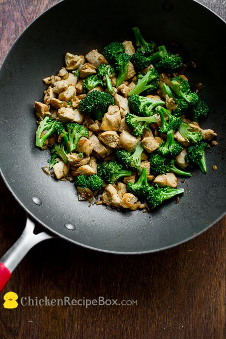 Low Fat Chicken/Broccoli Stir Fry by chickenrecipe #Chicken #Broccoli #Stir_Fry #Healthy