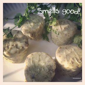 Zelf zeep maken met kokosolie en munt dmv gootsteenontstopper