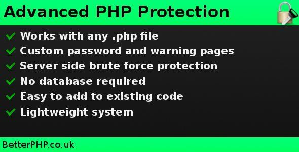 Advanced PHP Protection . Key