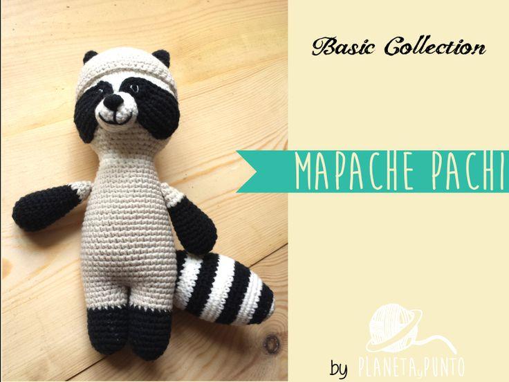 PLANETAyPUNTO BAsic Collection: Mapache Pachi