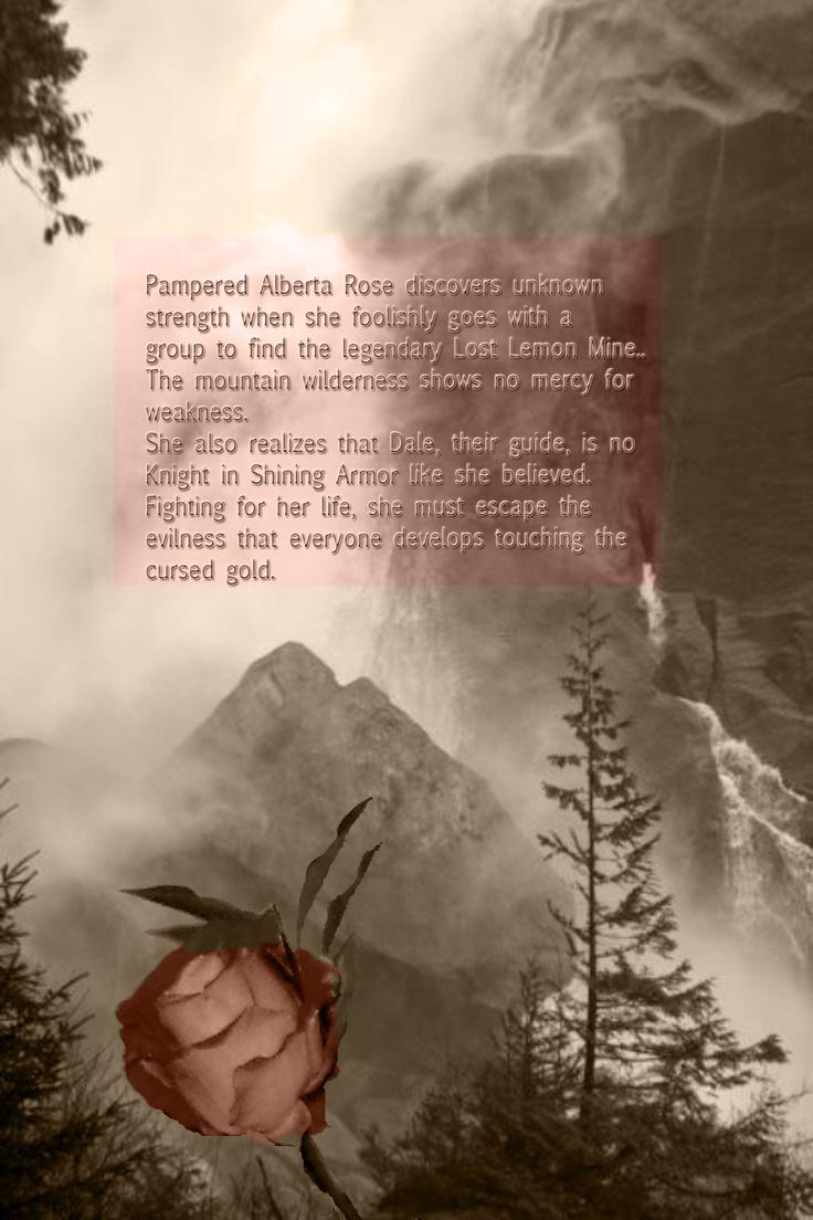 Back cover - Alberta Wild Rose