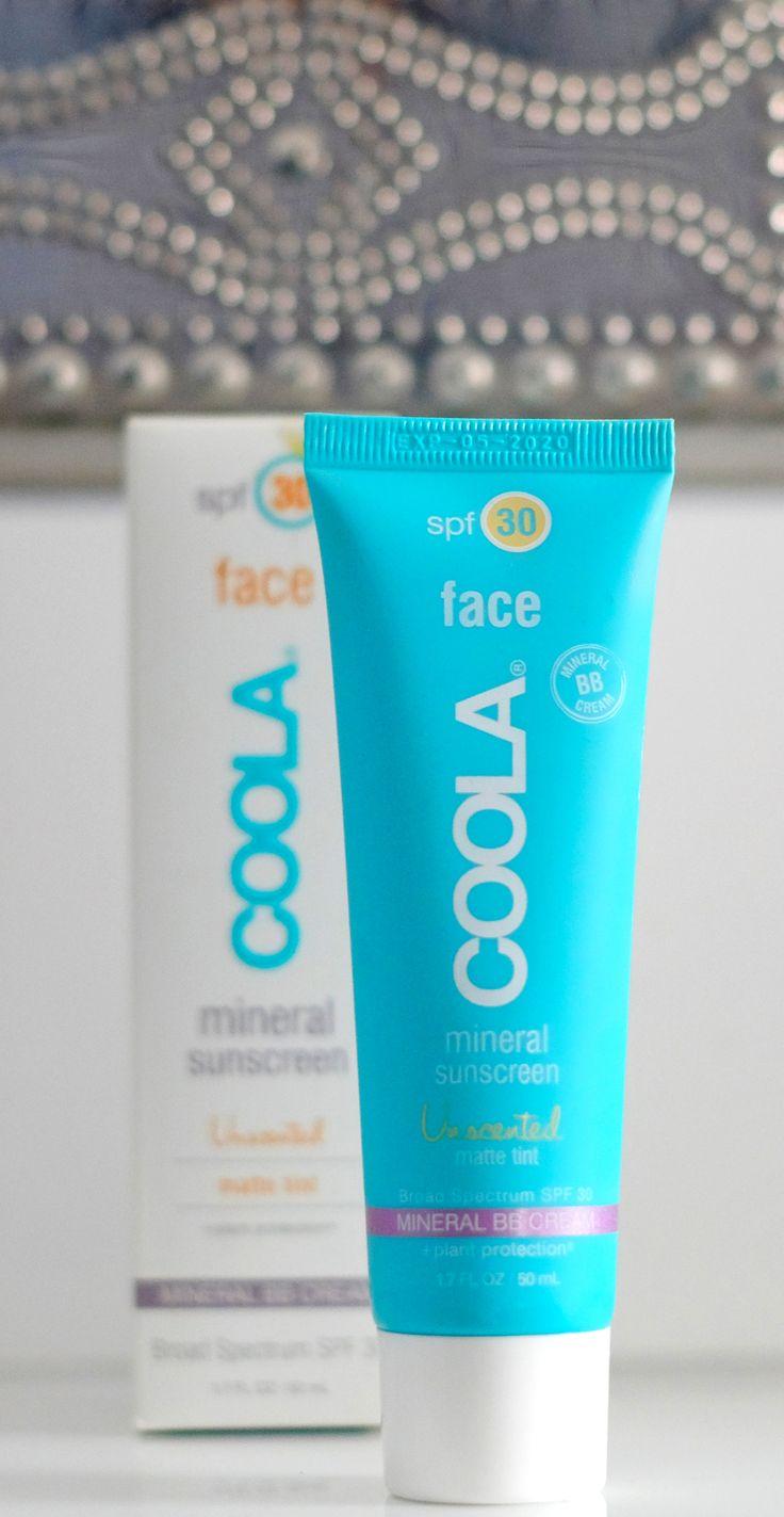 die beste mattierende Sonnencreme für jeden Tag von COOLA  SPF 30, Mineral BB Cream ohne viel Farbe, auch für Männer indeal! Unsichtbare Auffrischung und Schutz der Haut vor der Sonne. Sonnencreme ist die beste Antifaltencreme! Amerikanische Firma, schwer erhältlich, geht aber über iherb.com