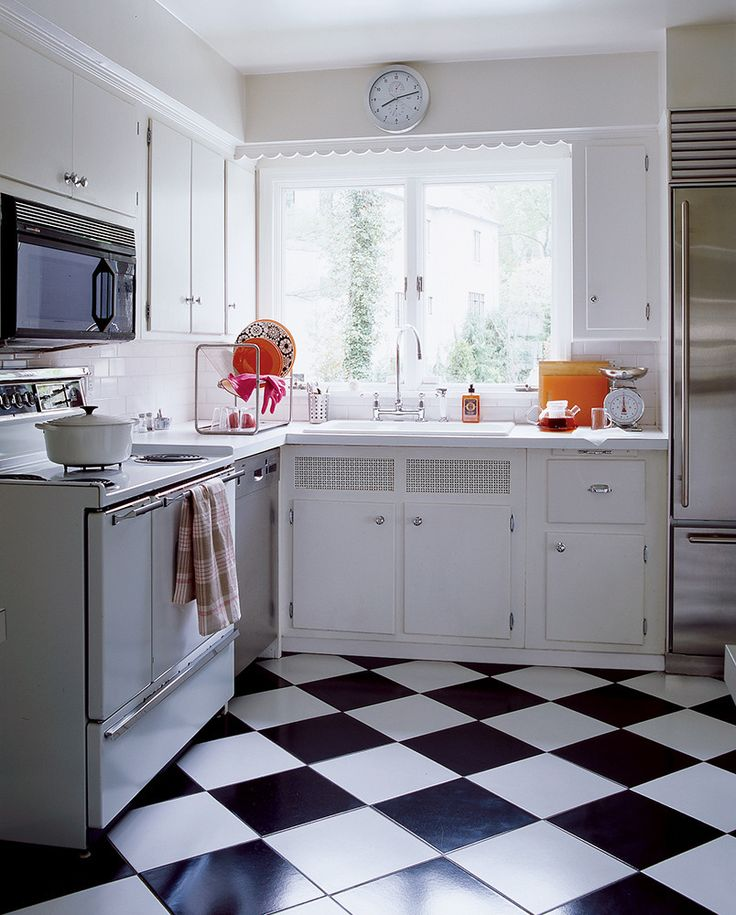 Kitchen Floor Remodel Ideas: 1000+ Ideas About 1950s Kitchen On Pinterest