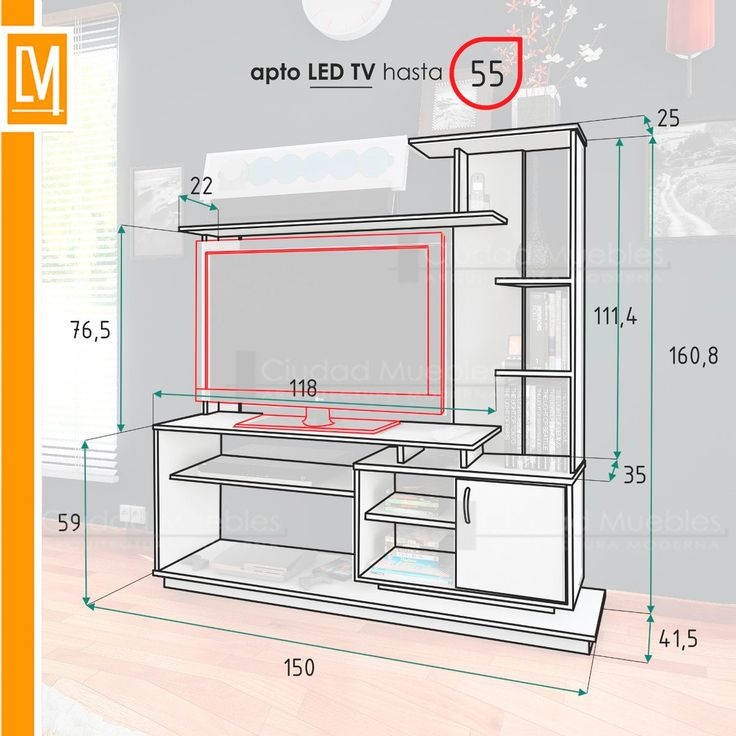 M s de 25 ideas incre bles sobre muebles centro de for Modulares para tv modernos