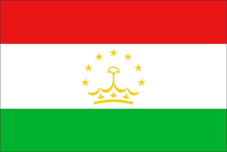Tajikistan Flag