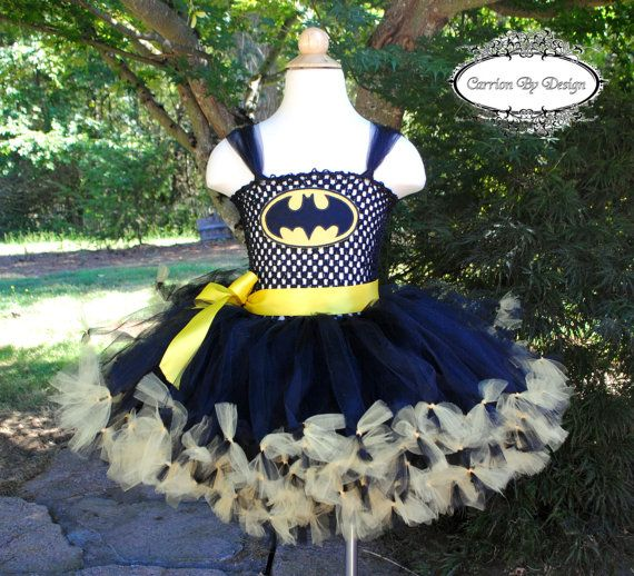 Hey, I found this really awesome Etsy listing at https://www.etsy.com/listing/186942366/batman-inspired-tutu-dress-costume