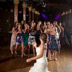 bouquet toss alternatives
