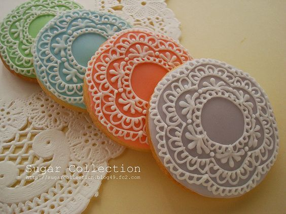 Learn how to make gorgeous Doily Cookies and take your baking to the next level. Check out the edible sugar lace too. We've included a video for you.