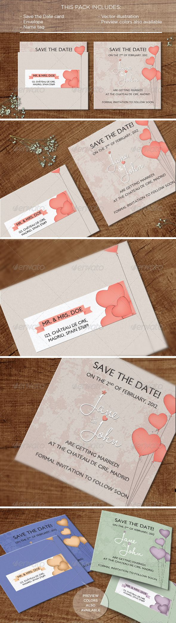 92 best print templates images on pinterest print templates font in the air save the date card reheart Gallery