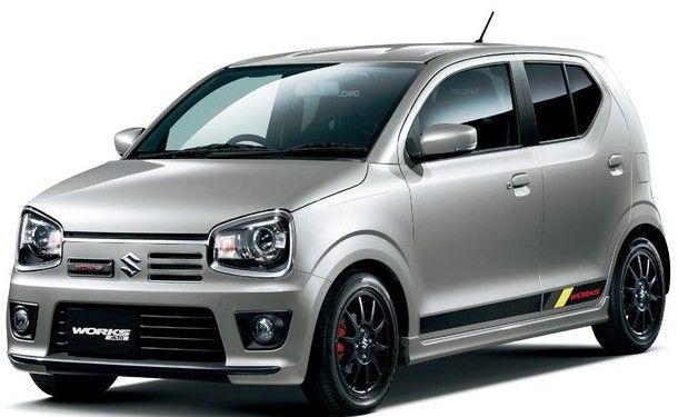 Suzuki Alto Works Unveiled in Japan