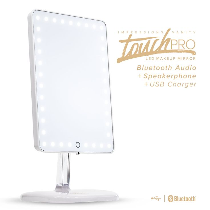 stand up vanity mirror with lights. Impressions Vanity Co  Touch Pro LED Makeup Mirror with Wireless Bluetooth Audio Speakerphone Best 25 Led makeup mirror ideas on Pinterest desk
