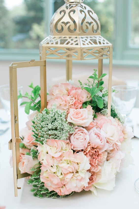 CENTRE DE TABLE mariage oriental chic No Stress Wedding sur Trendy Wedding le blog: