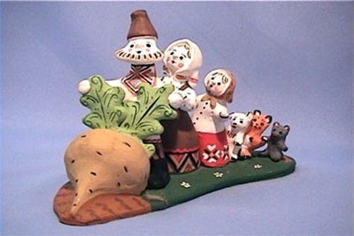 "Каргопольская игрушка ""The Enormous Turnip"""