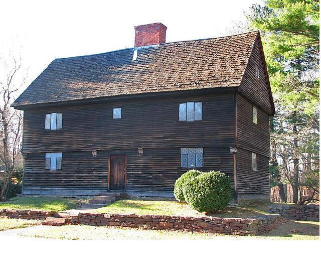 New england colonial buttolph williams house for New england kit homes