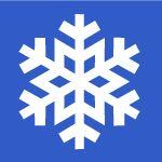 Snowflake cutout template