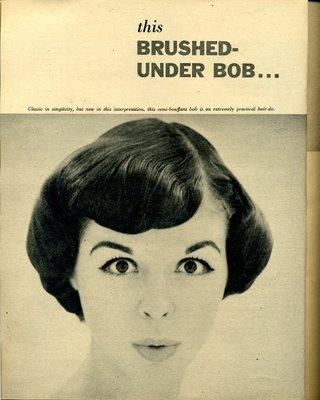 1950's hairstyles  vintage. history of hair