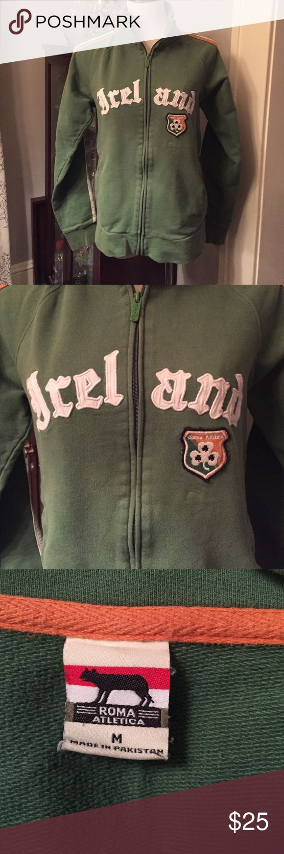 Ireland green zip up SZ Med. Ireland green zip up Jackets & Coats