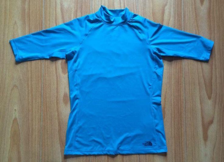 The North Face Rash Guard XS Shirt Royal Blue UVProtection UPS 50