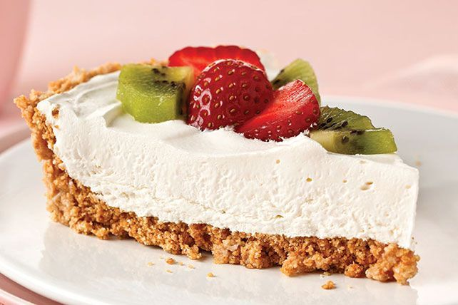 Try this PHILADELPHIA No-Bake Cheesecake with sweet graham cracker crust, creamy filling and fresh fruit on top. Whip up this no-bake cheesecake today!