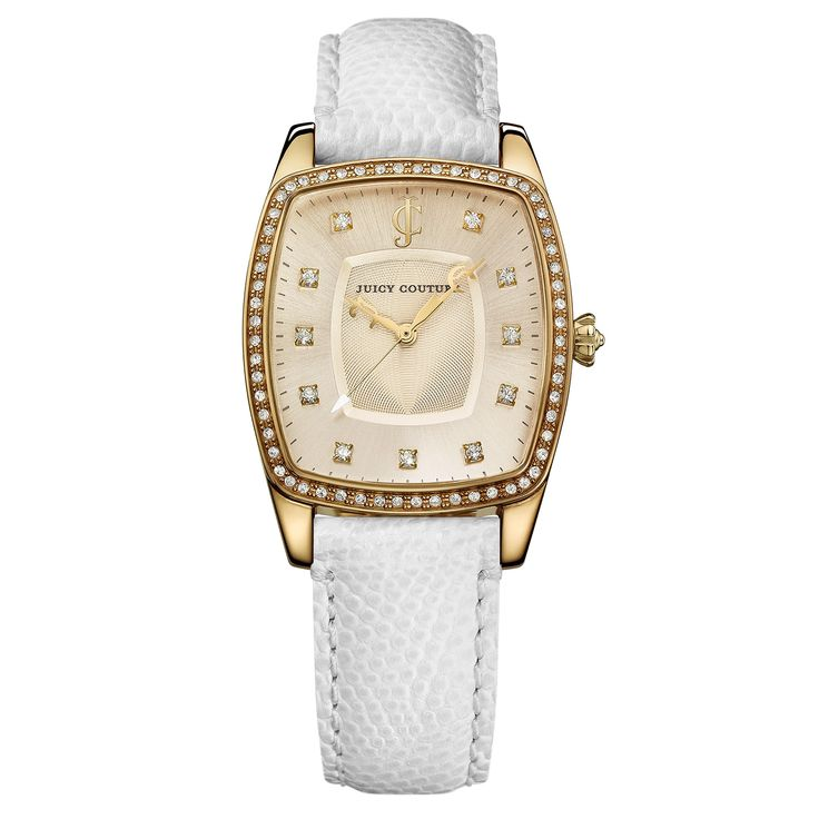 Juicy Couture The Beau White Women's Watch