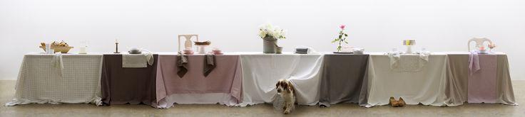 #thenewlinenlook #dog #welshspringerspaniel #springerspaniel #table #longtable #himla_ab #himla #tablesetting
