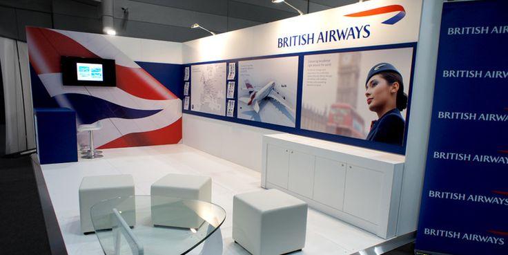 British Airways Custom Display, 2015.