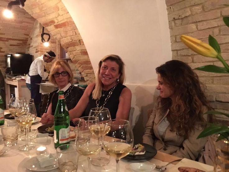 Con Oliver Glowing e Daniele D Alberto x cucinare Spaghettoalvolo Verrigni!