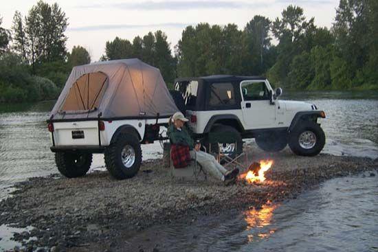 Tentrax And Jeep Tj Trailer 1 Jeeps Jeep Jeep Tj