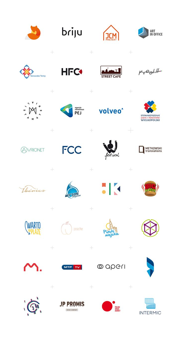 Pack of selected logos created since 2012.