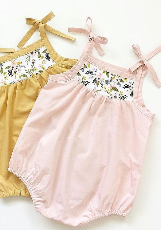 Marya atSwallow's Returndesigns and makes the sweetest cotton dresses, blouses, rompers and bloomers for babies and girls aged 0 to 5 years. I love