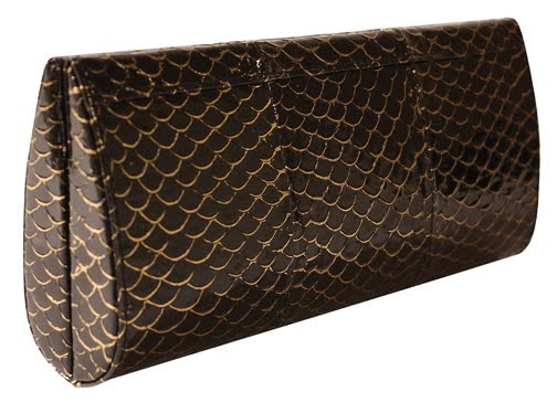 #clutch made of fish leather (tilapia)   Design by #KellyLocke