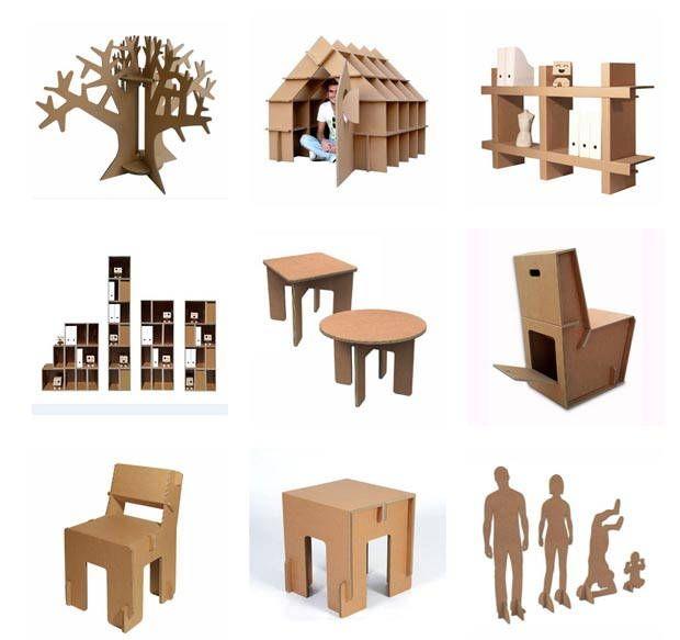 1000 images about muebles de cart n on pinterest