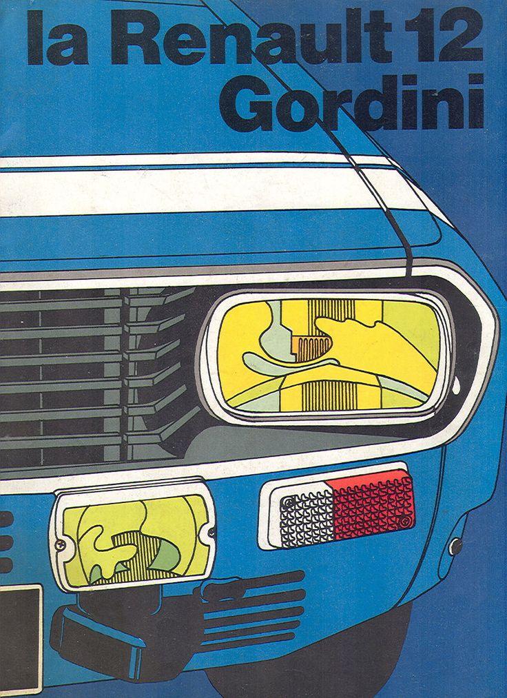 Renault 12 Gordini brochure.