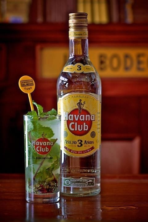 Rum Нavana Club: Havana Club, Delicioso Drinks, Clough Club, Rum Havana, Club Signature, Con Havana, Cuban Cocktails, Mojito Con, Cocktails Recipes