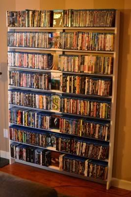 Best 25+ Diy dvd shelves ideas on Pinterest | Dvd movie storage ...