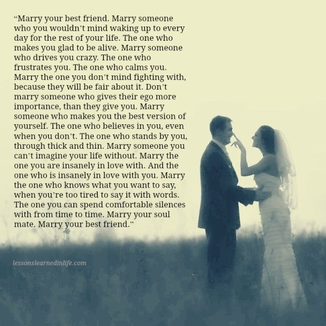 Lessons Learned in Life | Marry your Soulmate.