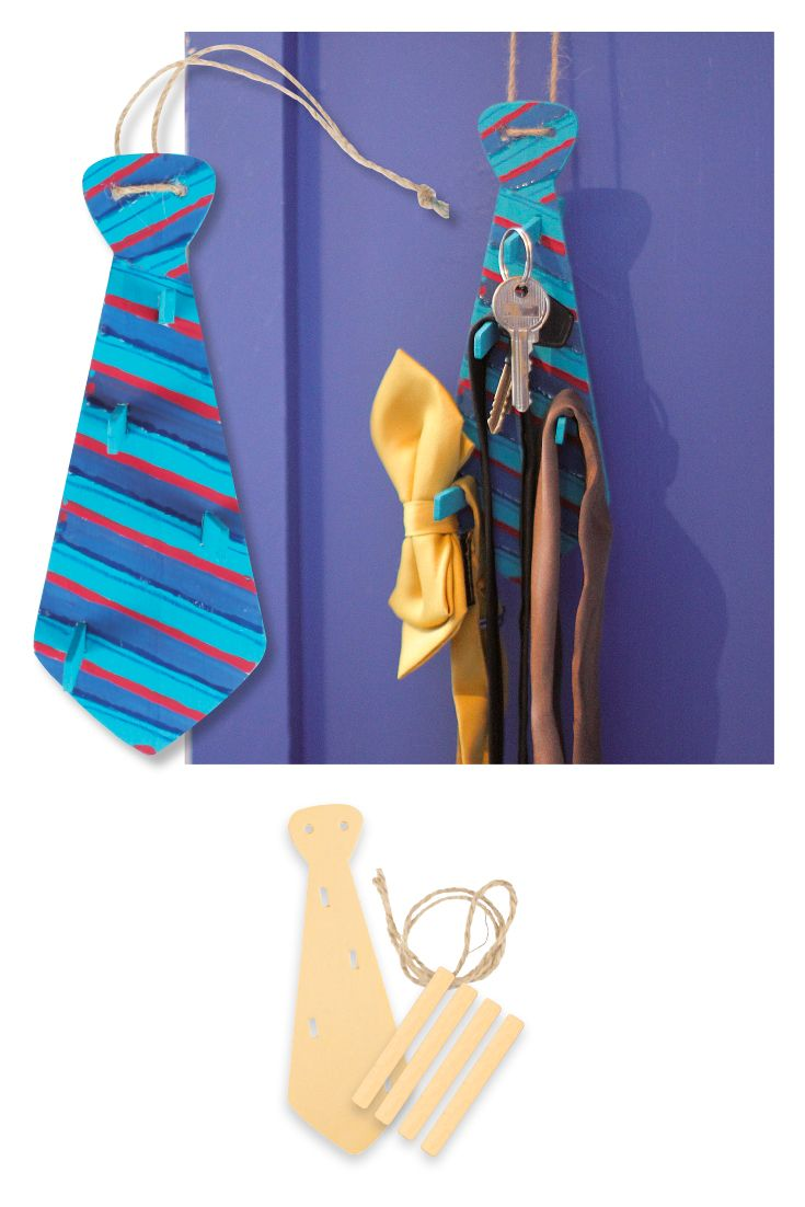 Porte Cravates Ou Porte Clefs Lot De 2 Kits Supports Et