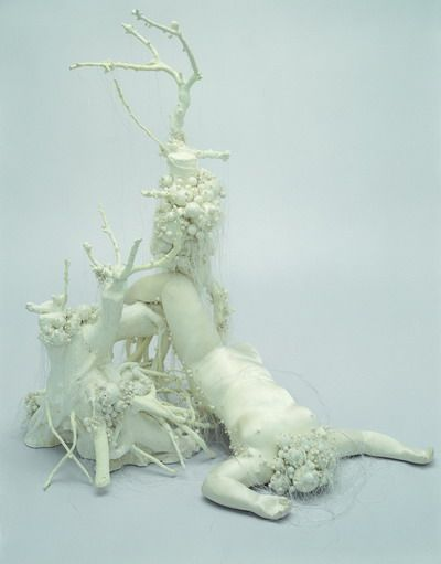 From the exhibition 'Mother's!!!' by artist Lin Tianmiao. http://www.wanggongxin.com
