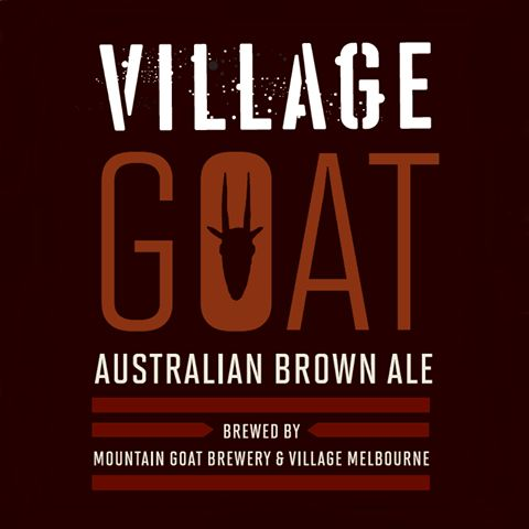 Have you tried our Australian Brown Ale brewed by Mountain Goat Beer and the Village Melbourne crew? #beer #brewed #melbourne #brownale #villagemelbourne #villagegoat