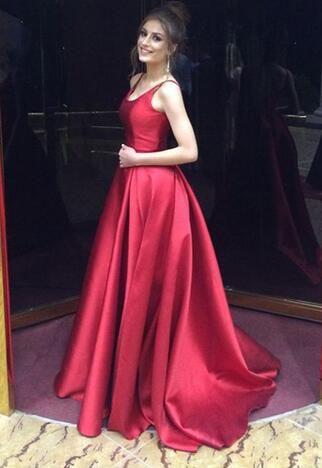 Backless Prom Dress,Stain Prom Dress,Cheap Prom Dress,Mermaid A-Line