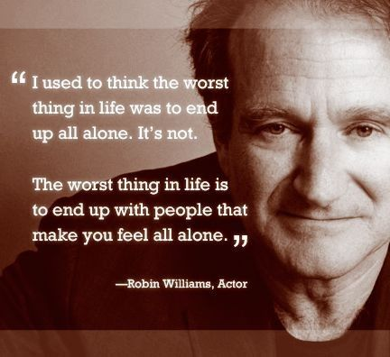 This quote makes me think the great Robin Williams was an INFJ : infj