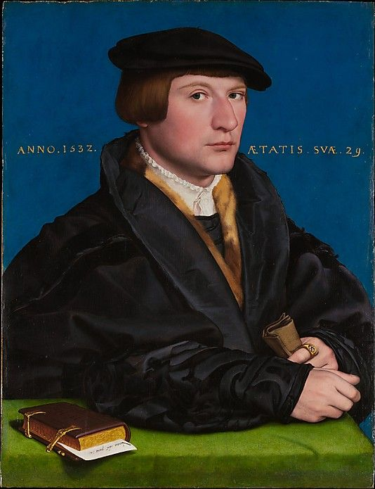 Portrait of a Member of the Wedigh Family, Probably Hermann Wedigh (died 1560)  Hans Holbein the Younger   (German, Augsburg 1497/98–1543 London)